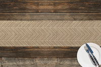 STRAND TAN Table Runner By Becky Bailey