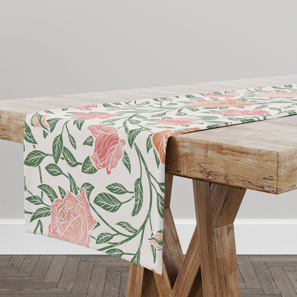 ZINNIA LIGHT Table Runner By Kavka Designs