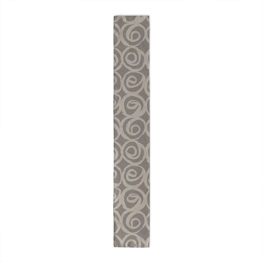 ROSES ABSTRACT GREY Table Runner By Kavka Designs