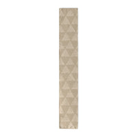 TRIANGULAR PRISM BEIGE Table Runner By Kavka Designs
