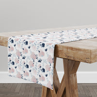 PINK GARDEN Table Runner By Lemon Lovegood