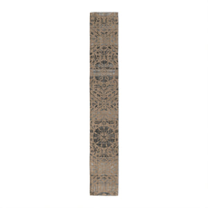 SUZANI DISTRESSED BEIGE & GREY Table Runner By Marina Gutierrez