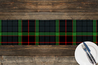 TARTAN BLUE AND GREEN Table Runner By Terri Ellis
