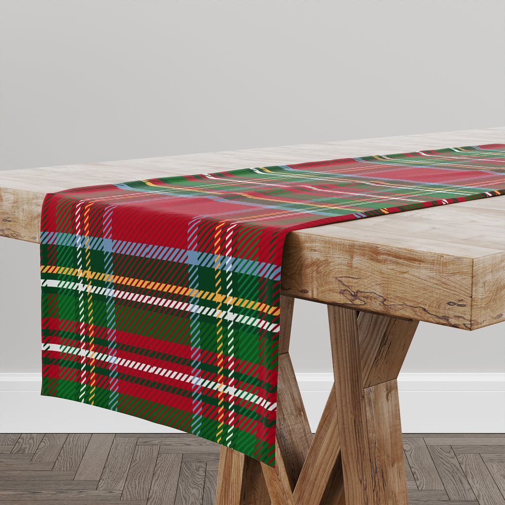 TARTAN CHRISTMAS Table Runner By Terri Ellis
