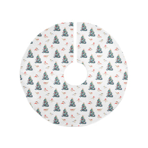 CHRISTMAS BIRD Christmas Tree Skirt Emily Fee Collection By Terri Ellis