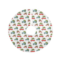CHRISTMAS CARS Christmas Tree Skirt Emily Fee Collection By Terri Ellis