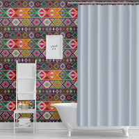 AZTEC TRIBAL MULTI Peel and Stick Wallpaper By Becky Bailey