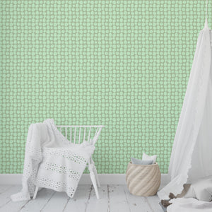 APPLES MINT Peel and Stick Wallpaper By Hope Bainbridge