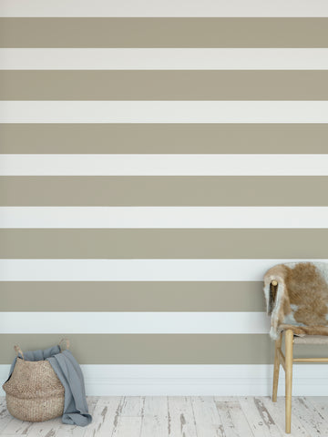 CENTERVILLE TAN Peel and Stick Wallpaper By Terri Ellis