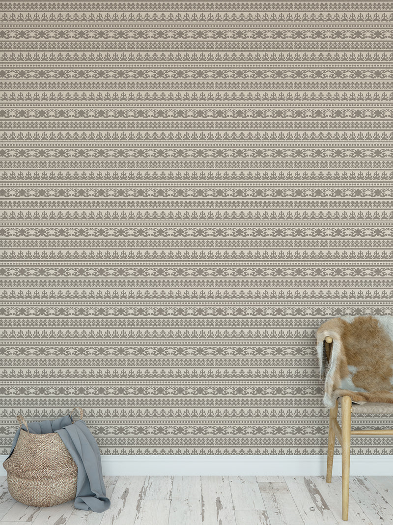 ANGKOR SAND Peel and Stick Wallpaper By Tiffany Wong