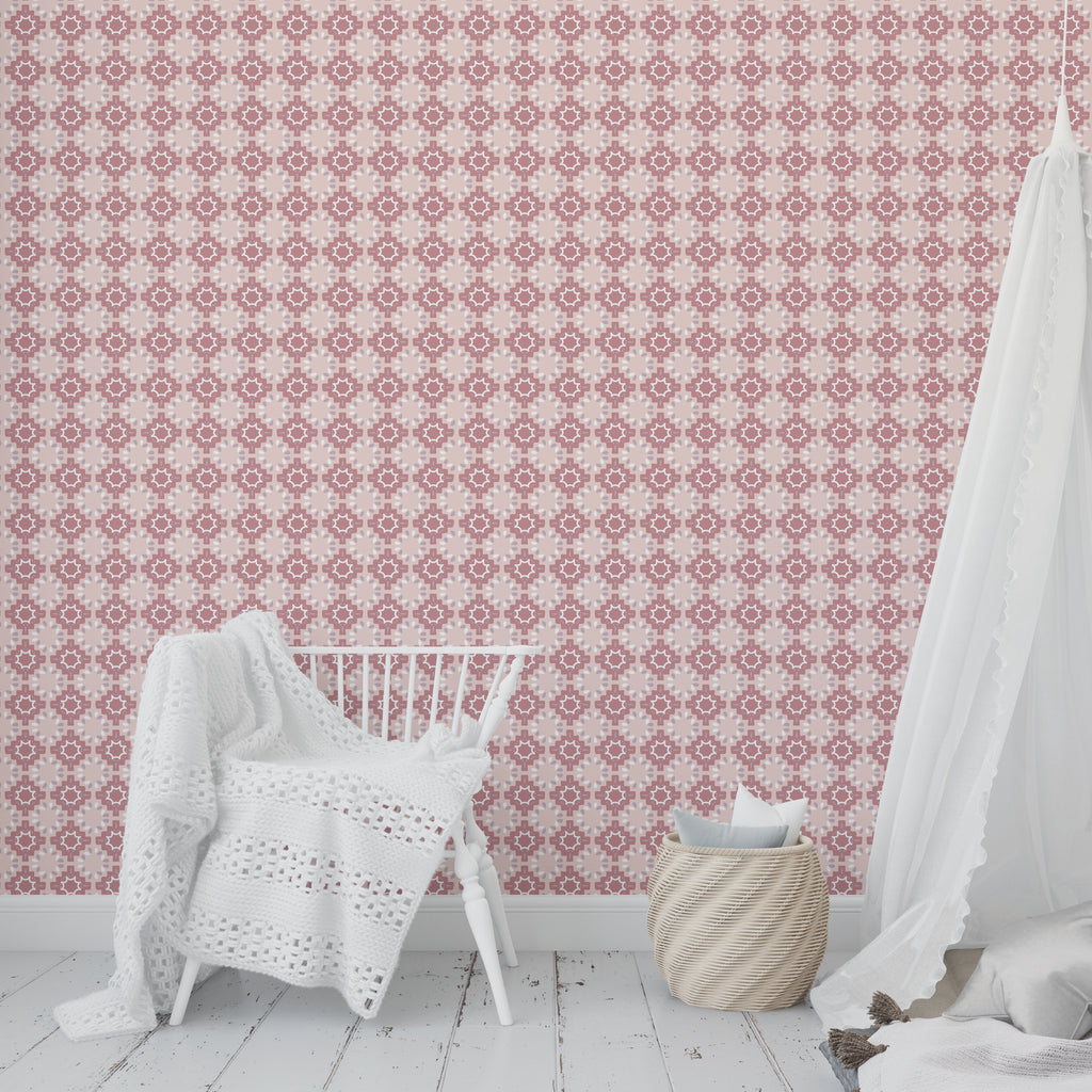 ESTRELLA BERRY Peel and Stick Wallpaper By Tiffany Wong