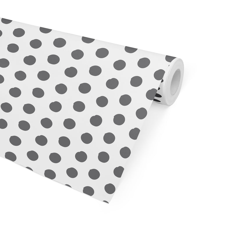 BIG POLKA DOTS Peel and Stick Wallpaper By Becky Bailey