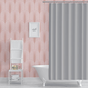 ARCHES PINK Peel and Stick Wallpaper By Becky Bailey