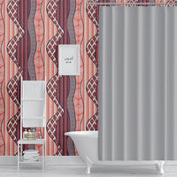 WRAP RED Peel and Stick Wallpaper By Becky Bailey