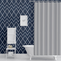 AVOCA NAVY Peel and Stick Wallpaper By Becky Bailey
