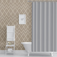 AVOCA TAN Peel and Stick Wallpaper By Becky Bailey