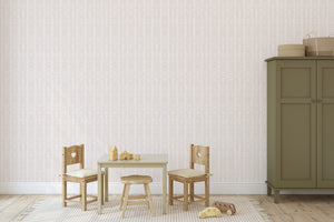 AMARE BLUSH Peel and Stick Wallpaper By Terri Ellis