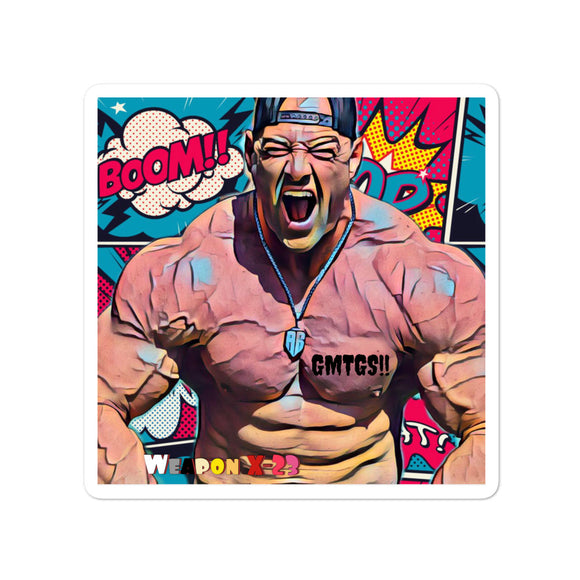 GMTGS!! Gym Villain stickers