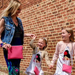 pink mummy and me bags