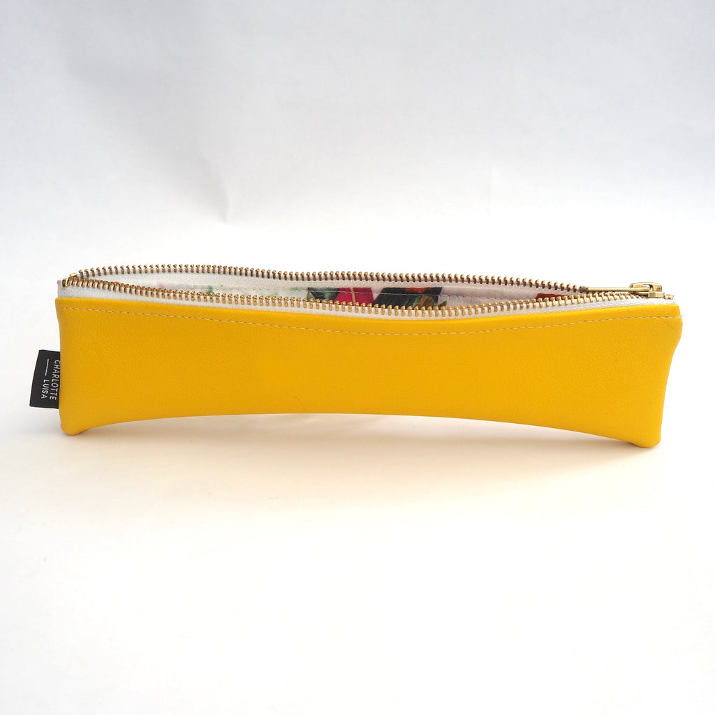 Yellow Reusables Pouch