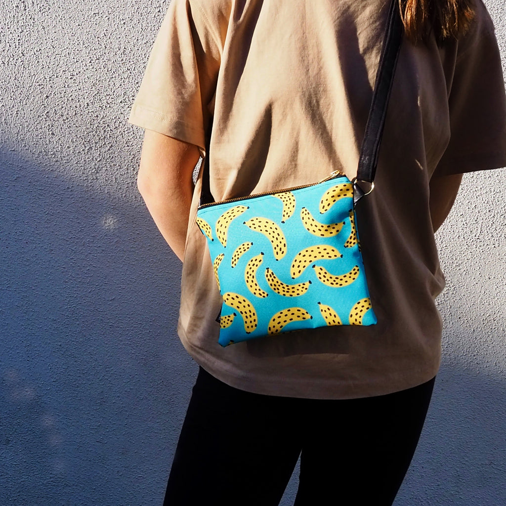 Rad Union Banana Cross Body Bag