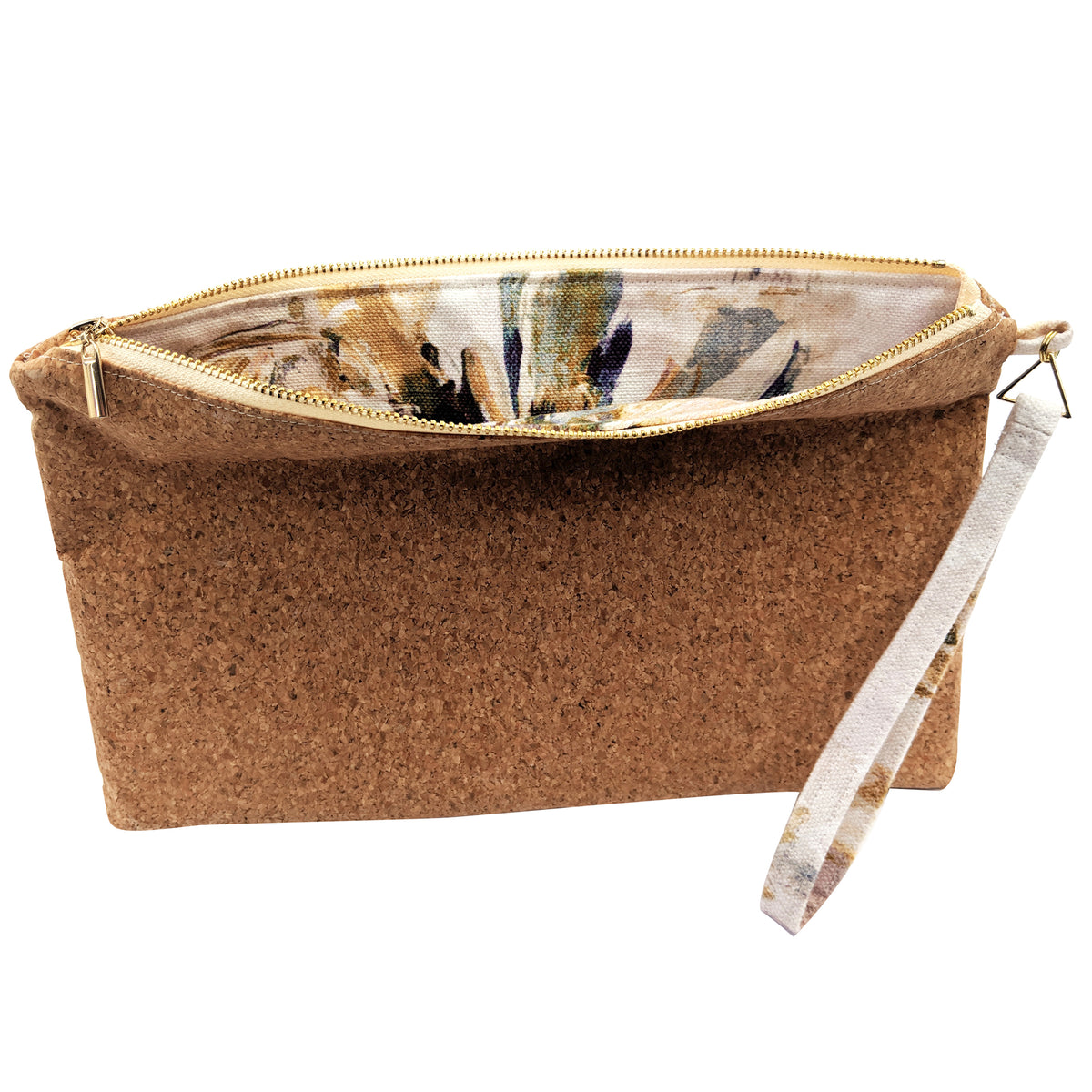Cork Midi Clutch Bag - Limited Edition