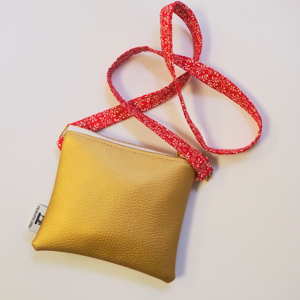 Gold Mummy & Me Bag