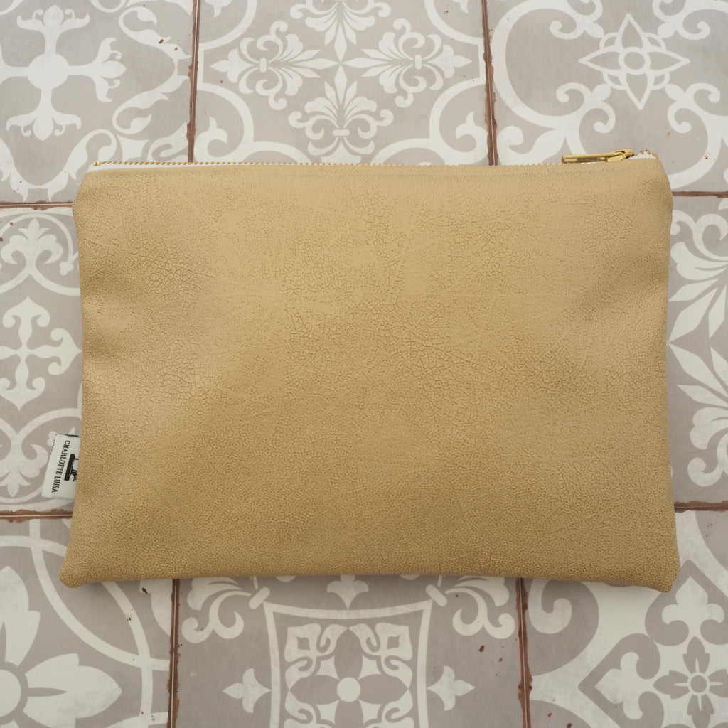 Gold Midi Clutch Bag - Limited Edition