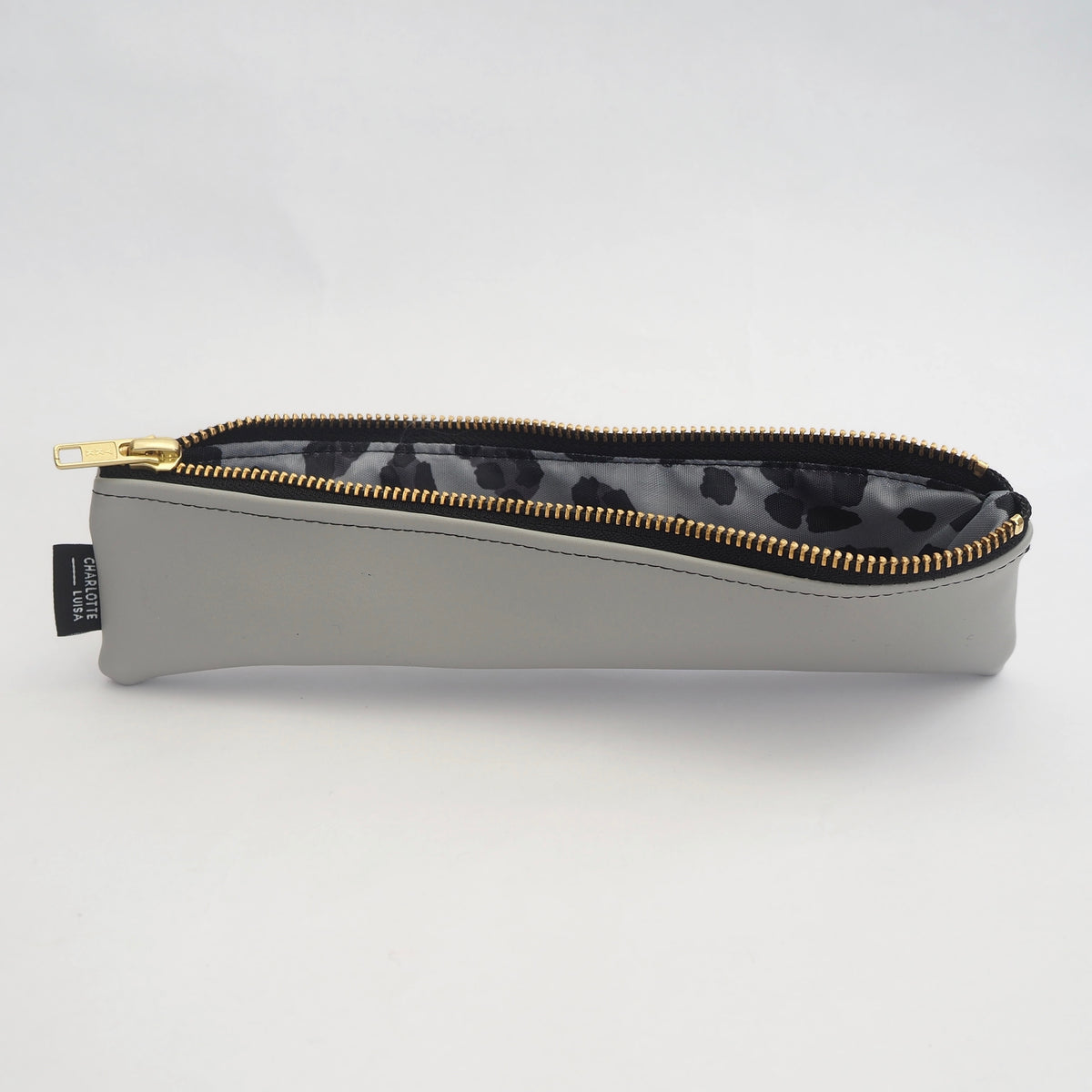 Pale Grey Reusables Pouch