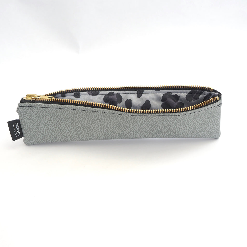 Textured Grey Reusables Pouch