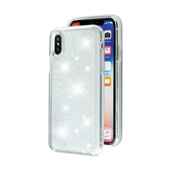 GOLDEN SNOW - Glitter Waterfall iPhone Case Beautiful & Protective Premium phone cases for Apple iPhone, Samsung Galaxy and more.