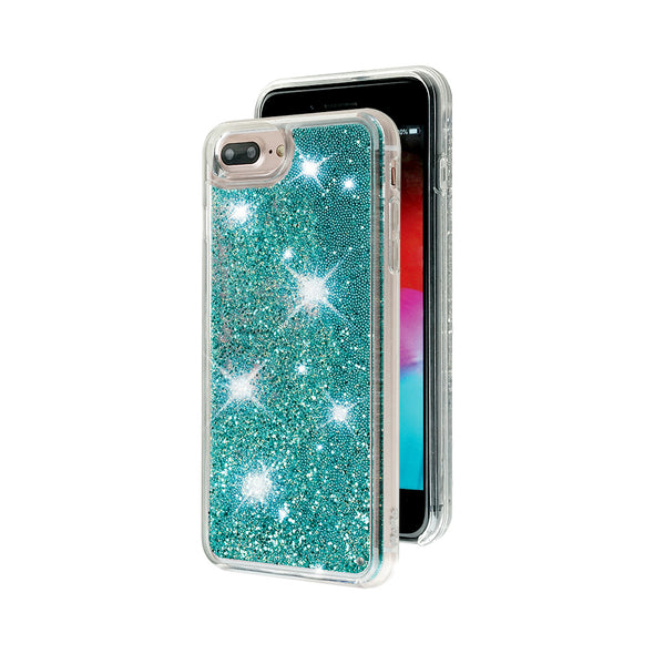 TIFFANY - Glitter Waterfall iPhone Case Beautiful & Protective Premium phone cases for Apple iPhone, Samsung Galaxy and more.