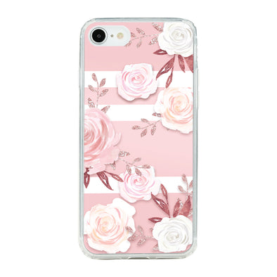 Pink Floral pattern 3 Beautiful & Protective Premium phone cases for Apple iPhone, Samsung Galaxy and more.