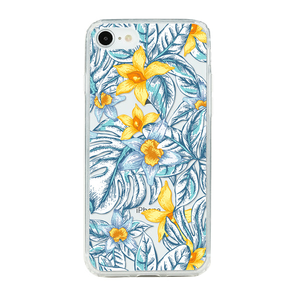 Botanical natural floral and tropical leaf Beautiful & Protective Premium phone cases for Apple iPhone, Samsung Galaxy and more.