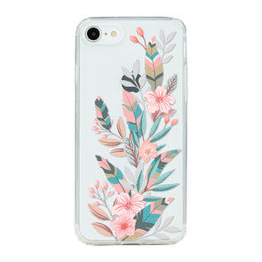 Rose and feathers Beautiful & Protective Premium phone cases for Apple iPhone, Samsung Galaxy and more.