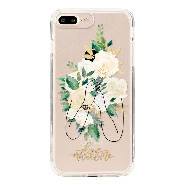 Be awesome with a romantic bouquet of with roses Beautiful & Protective Premium phone cases for Apple iPhone, Samsung Galaxy and more.
