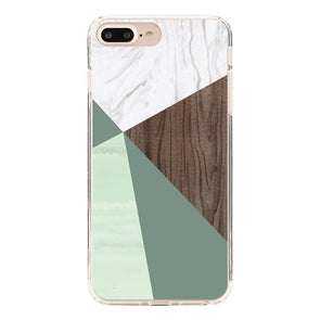 Marble pattern, and Abstract lines with wood texture Beautiful & Protective Premium phone cases for Apple iPhone, Samsung Galaxy and more.