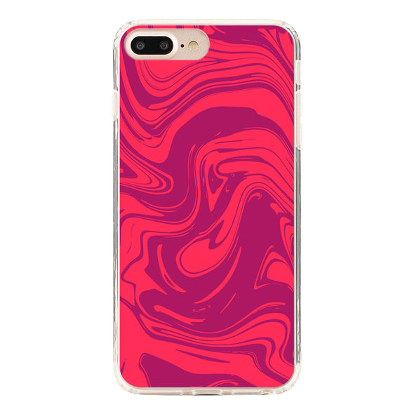 Marble red and purple Beautiful & Protective Premium phone cases for Apple iPhone, Samsung Galaxy and more.
