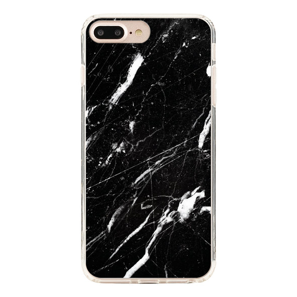 Marble black Beautiful & Protective Premium phone cases for Apple iPhone, Samsung Galaxy and more.