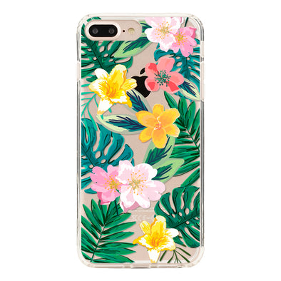 Tropical flowers Beautiful & Protective Premium phone cases for Apple iPhone, Samsung Galaxy and more.