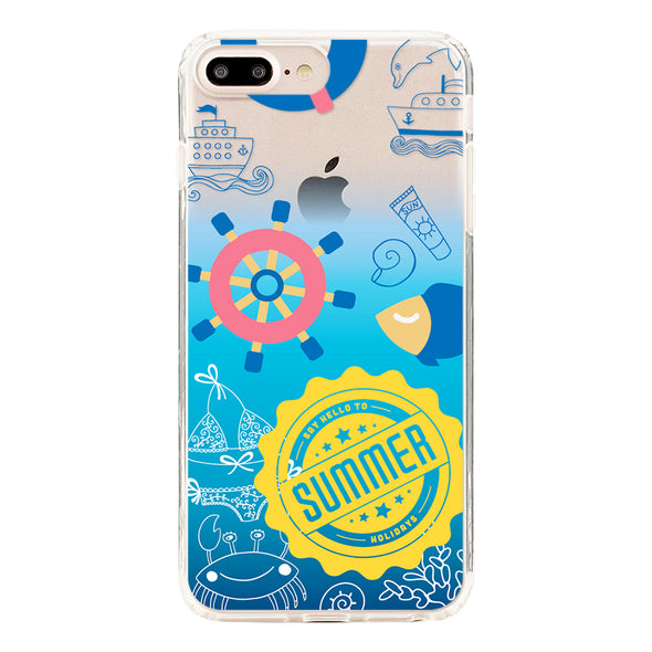 Deep blue seaside vacation Beautiful & Protective Premium phone cases for Apple iPhone, Samsung Galaxy and more.