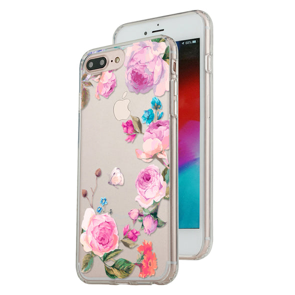 Vintage botanical roses and wildflowers Beautiful & Protective Premium phone cases for Apple iPhone, Samsung Galaxy and more.