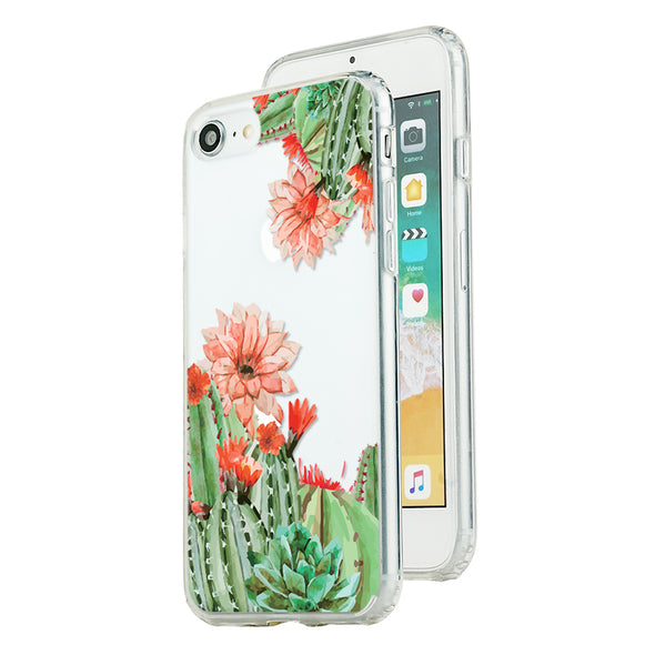 Cactus with red flowers Beautiful & Protective Premium phone cases for Apple iPhone, Samsung Galaxy and more.