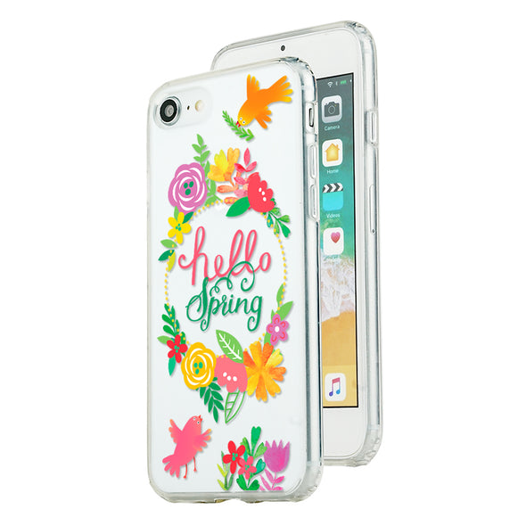 Springtime hello spring Beautiful & Protective Premium phone cases for Apple iPhone, Samsung Galaxy and more.