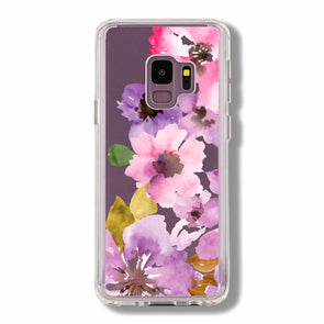 Watercolor summer florals - Samsung Galaxy cases Beautiful & Protective Premium phone cases for Apple iPhone, Samsung Galaxy and more.