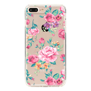 Vintage pink and red rose Beautiful & Protective Premium phone cases for Apple iPhone, Samsung Galaxy and more.