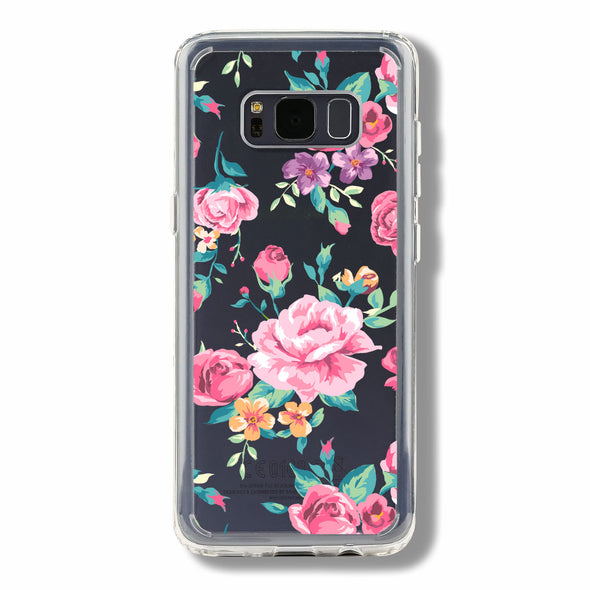 Vintage pink and red rose - Samsung Galaxy cases Beautiful & Protective Premium phone cases for Apple iPhone, Samsung Galaxy and more.