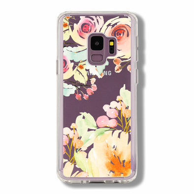 Handmade pastel summer floral - Samsung Galaxy cases Beautiful & Protective Premium phone cases for Apple iPhone, Samsung Galaxy and more.