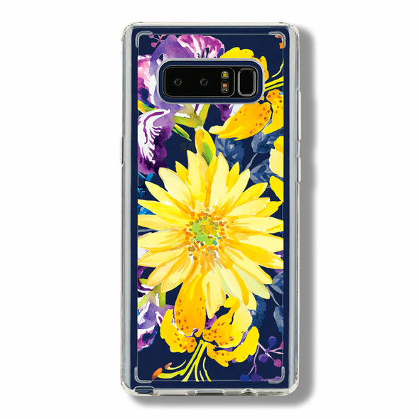 Gerbera, lily and Iris floral - Samsung Galaxy cases Beautiful & Protective Premium phone cases for Apple iPhone, Samsung Galaxy and more.