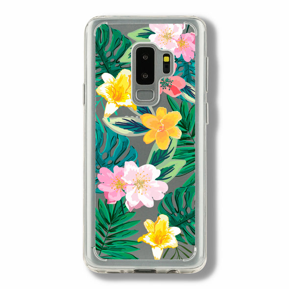 Tropical flowers - Samsung Galaxy case Beautiful & Protective Premium phone cases for Apple iPhone, Samsung Galaxy and more.